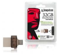 PEN-OTG-032 Pendrive memoria 32GB. Kingston MicroDuo USB 2.0 con Micro-USB OTG, compatibles con Android 4.0 o superior